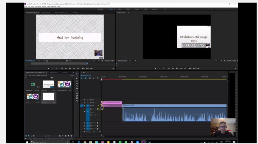 Intro to Adobe Premiere Pro: The Basics
